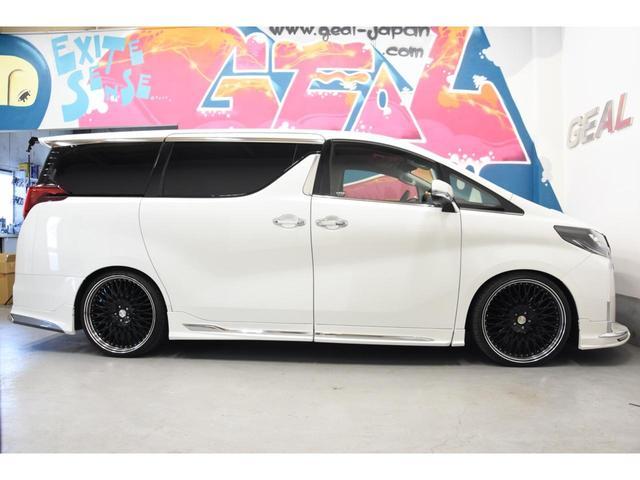 2.5S WALDコンプリートカー 22インチAW TEIN車高調 アルパイン11型ナビ アルパインフリップダウンモニター 両側電動スライドドア(35枚目)
