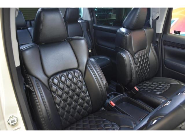 2.5S WALDコンプリートカー 22インチAW TEIN車高調 アルパイン11型ナビ アルパインフリップダウンモニター 両側電動スライドドア(41枚目)