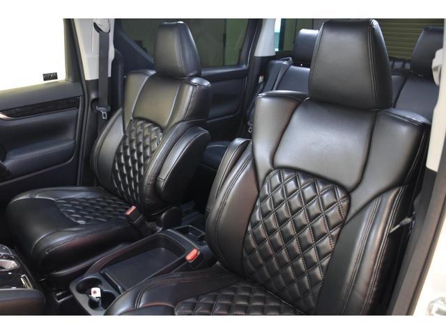 2.5S WALDコンプリートカー 22インチAW TEIN車高調 アルパイン11型ナビ アルパインフリップダウンモニター 両側電動スライドドア(43枚目)