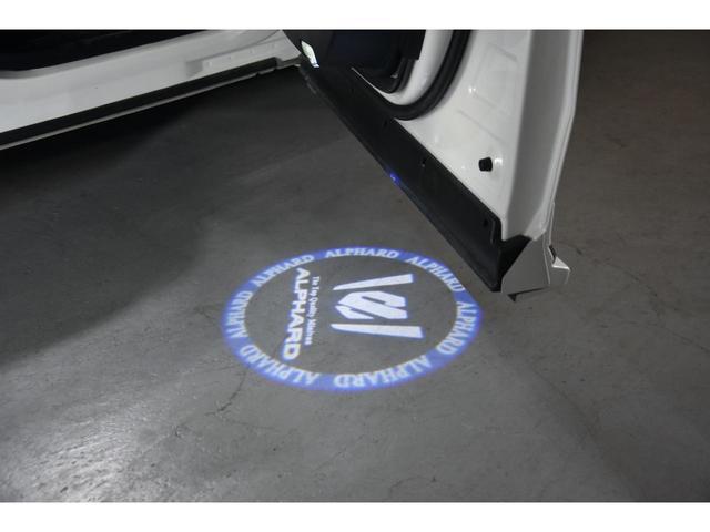 2.5S WALDコンプリートカー 22インチAW TEIN車高調 アルパイン11型ナビ アルパインフリップダウンモニター 両側電動スライドドア(45枚目)