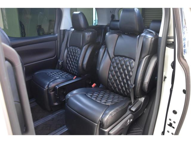 2.5S WALDコンプリートカー 22インチAW TEIN車高調 アルパイン11型ナビ アルパインフリップダウンモニター 両側電動スライドドア(50枚目)