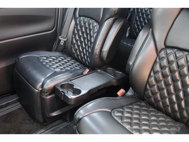 2.5S WALDコンプリートカー 22インチAW TEIN車高調 アルパイン11型ナビ アルパインフリップダウンモニター 両側電動スライドドア(54枚目)