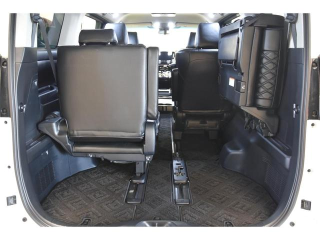 2.5S WALDコンプリートカー 22インチAW TEIN車高調 アルパイン11型ナビ アルパインフリップダウンモニター 両側電動スライドドア(57枚目)