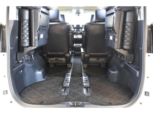 2.5S WALDコンプリートカー 22インチAW TEIN車高調 アルパイン11型ナビ アルパインフリップダウンモニター 両側電動スライドドア(58枚目)