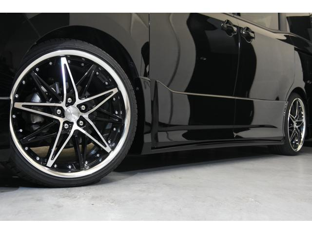 アドミレイションコンプリートカー 新品WORK19AW TEIN車高調 4本出しマフラー アルパイン11型ナビ リアモニター GEALシートカバー 両側電動スライドドア(12枚目)