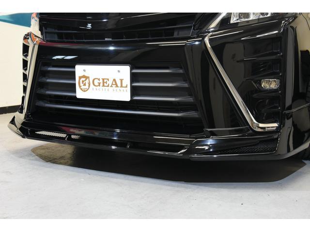 アドミレイションコンプリートカー 新品WORK19AW TEIN車高調 4本出しマフラー アルパイン11型ナビ リアモニター GEALシートカバー 両側電動スライドドア(15枚目)