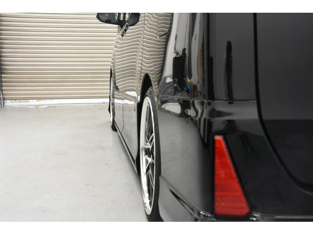 アドミレイションコンプリートカー 新品WORK19AW TEIN車高調 4本出しマフラー アルパイン11型ナビ リアモニター GEALシートカバー 両側電動スライドドア(29枚目)