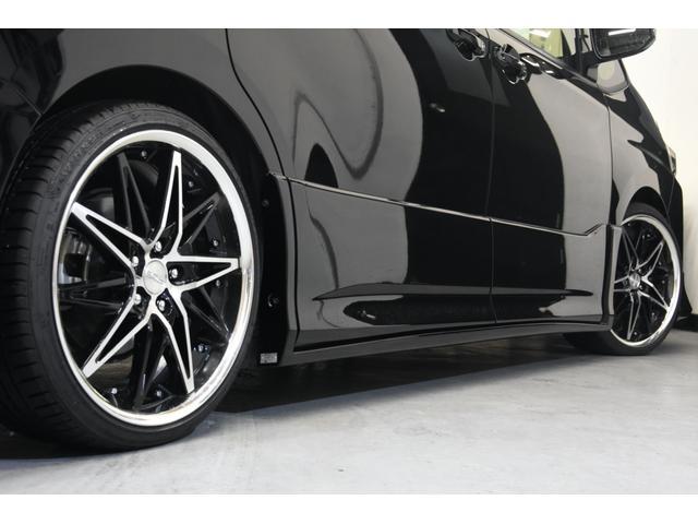 アドミレイションコンプリートカー 新品WORK19AW TEIN車高調 4本出しマフラー アルパイン11型ナビ リアモニター GEALシートカバー 両側電動スライドドア(31枚目)