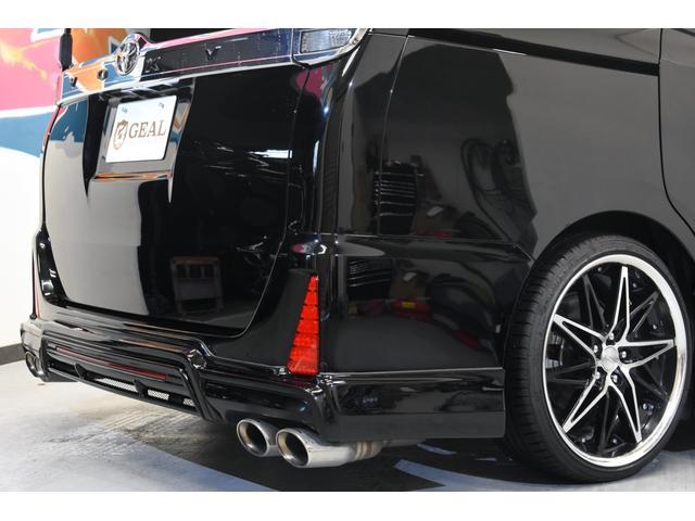 アドミレイションコンプリートカー 新品WORK19AW TEIN車高調 4本出しマフラー アルパイン11型ナビ リアモニター GEALシートカバー 両側電動スライドドア(32枚目)