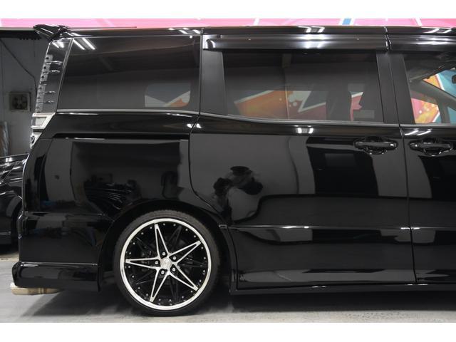 アドミレイションコンプリートカー 新品WORK19AW TEIN車高調 4本出しマフラー アルパイン11型ナビ リアモニター GEALシートカバー 両側電動スライドドア(42枚目)