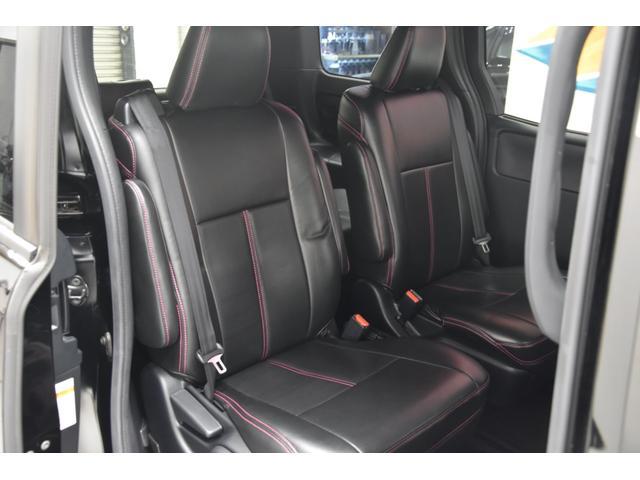 アドミレイションコンプリートカー 新品WORK19AW TEIN車高調 4本出しマフラー アルパイン11型ナビ リアモニター GEALシートカバー 両側電動スライドドア(49枚目)