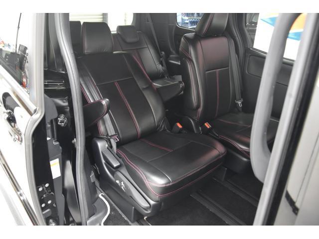 アドミレイションコンプリートカー 新品WORK19AW TEIN車高調 4本出しマフラー アルパイン11型ナビ リアモニター GEALシートカバー 両側電動スライドドア(51枚目)