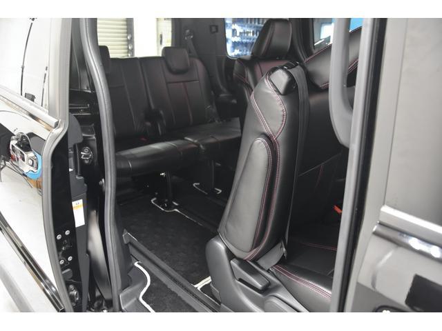 アドミレイションコンプリートカー 新品WORK19AW TEIN車高調 4本出しマフラー アルパイン11型ナビ リアモニター GEALシートカバー 両側電動スライドドア(52枚目)
