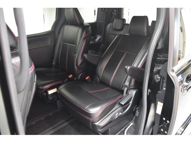 アドミレイションコンプリートカー 新品WORK19AW TEIN車高調 4本出しマフラー アルパイン11型ナビ リアモニター GEALシートカバー 両側電動スライドドア(55枚目)