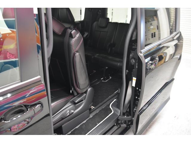 アドミレイションコンプリートカー 新品WORK19AW TEIN車高調 4本出しマフラー アルパイン11型ナビ リアモニター GEALシートカバー 両側電動スライドドア(56枚目)