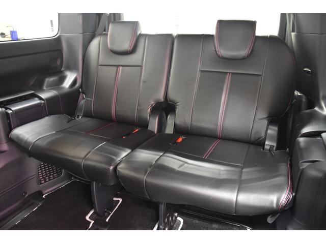アドミレイションコンプリートカー 新品WORK19AW TEIN車高調 4本出しマフラー アルパイン11型ナビ リアモニター GEALシートカバー 両側電動スライドドア(57枚目)