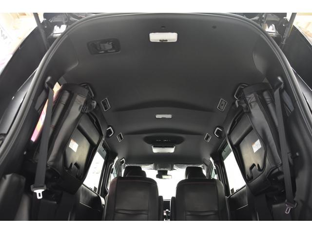 アドミレイションコンプリートカー 新品WORK19AW TEIN車高調 4本出しマフラー アルパイン11型ナビ リアモニター GEALシートカバー 両側電動スライドドア(62枚目)
