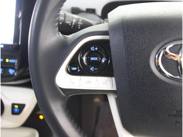 ドライブ中に安全な操作を可能にするステアリングスイッチ☆車両と一体感を感じます!