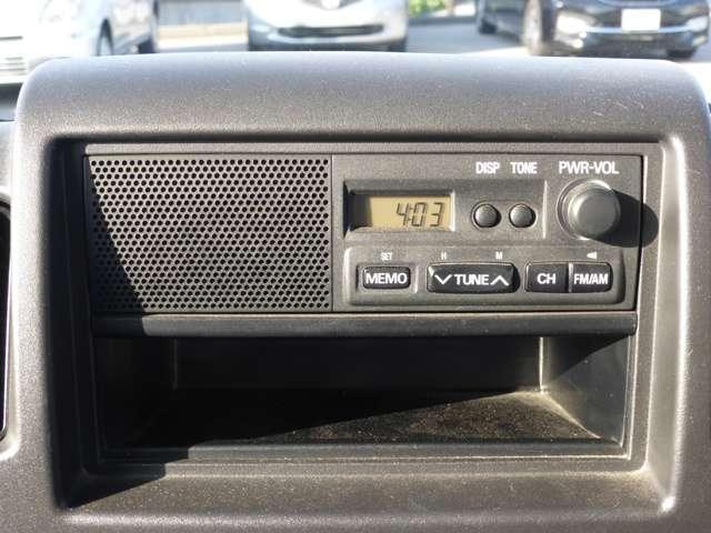 三菱 ミニキャブバン 660 CD 5速マニュアル 純正オーディオ