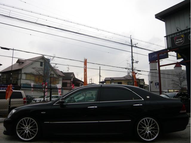 トヨタ クラウン アスリート 19AW 車高調 シートカバー