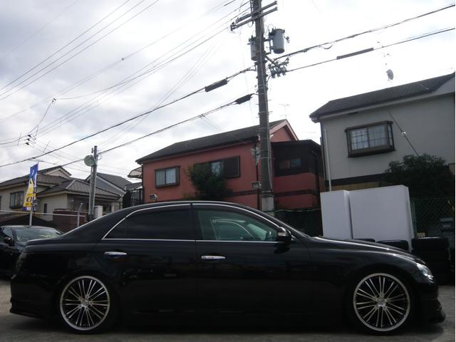 250G 19AW 車高調 黒革調シートカバー HDDナビ(2枚目)