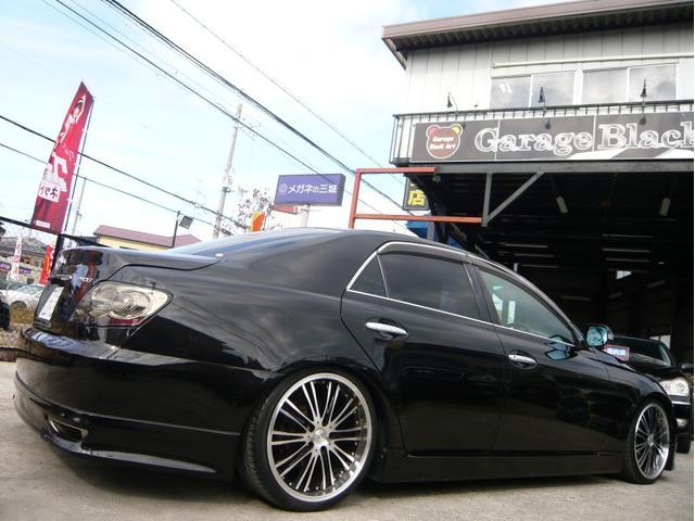 250G 19AW 車高調 黒革調シートカバー HDDナビ(3枚目)