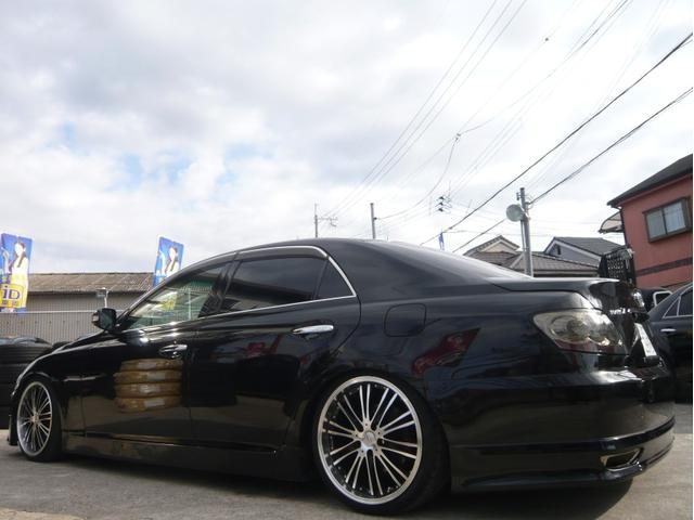 250G 19AW 車高調 黒革調シートカバー HDDナビ(5枚目)