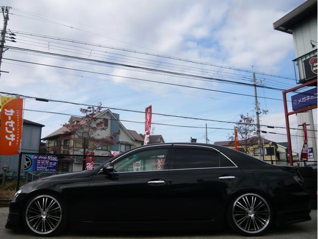 250G 19AW 車高調 黒革調シートカバー HDDナビ(6枚目)