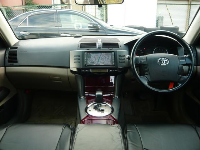 250G 19AW 車高調 黒革調シートカバー HDDナビ(9枚目)