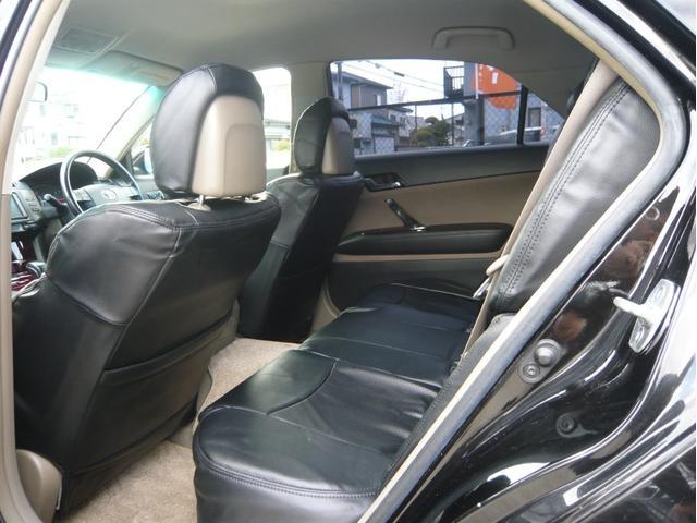 250G 19AW 車高調 黒革調シートカバー HDDナビ(15枚目)