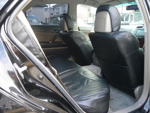 250G 19AW 車高調 黒革調シートカバー HDDナビ(16枚目)