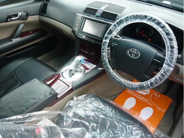 250G 19AW 車高調 黒革調シートカバー HDDナビ(19枚目)