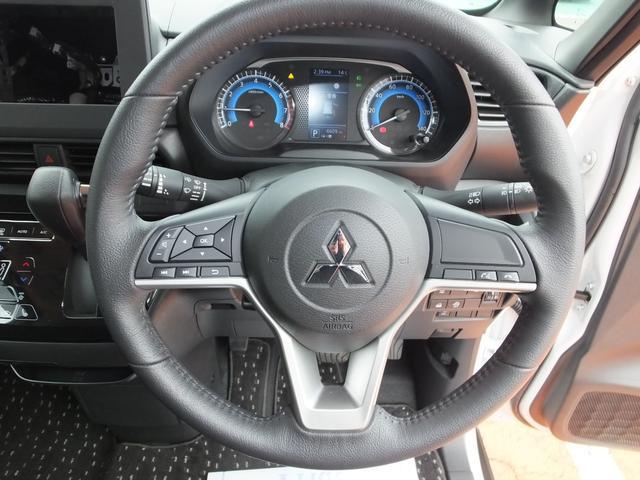 G 衝突被害軽減ブレーキ 助手席側ハンズフリーオートスライドドア LEDヘッドライト スマートキー 純正アルミホイール カーテンエアバッグ タッチパネル式フルオートエアコン 三菱認定プレミアム保証(14枚目)