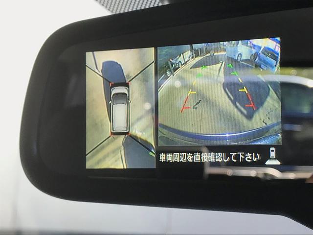 後方確認と上空から自車位置が確認できます。これが安全運転に寄与します。。