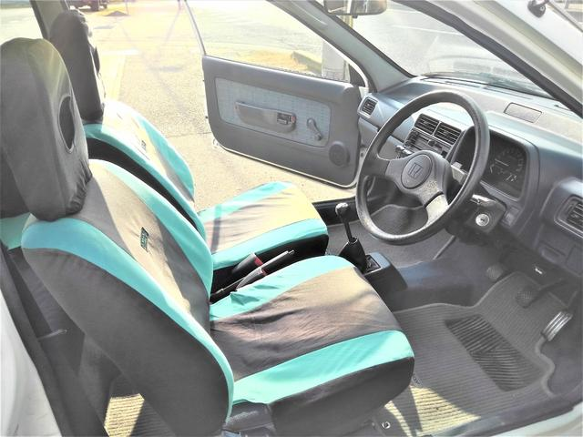 XTi 純正5速MT・PGM-FI 12VALVE・純正オプションシートカバー・純正ドアバイザー・純正ホイールキャップ・コーナーポール・フルオリジナル・タイミングベルト交換(19枚目)