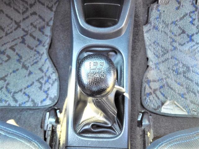 カスタムL ワンオーナー・後期最終型・4WD・ターボ・5速MT・64馬力・ICターボ・ユーザー買取車・純正エアロ・Rスポイラー・大型ドアバイザー・純正アルミ・背面タイヤカバー・CDオーディオ・ETC(20枚目)