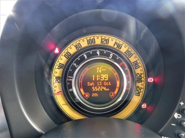 フィアット フィアット 500 by DIESEL 限定150台 Gルーフ 半革 16AW