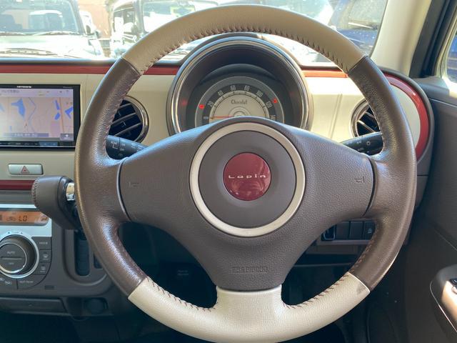 X カロッツェリアナビ Bluetoothオーディオ フルセグ HID オートエアコン 専用シート 純正ステアリング 純正スマートキ― プッシュスタート(9枚目)