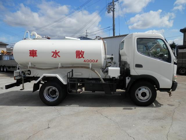 散水車 4000L PTO式(6枚目)
