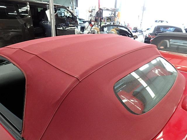ロードスター20AWエアロラッピング車高調赤クロス幌マフラー(13枚目)