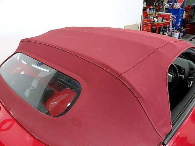 ロードスター20AWエアロラッピング車高調赤クロス幌マフラー(14枚目)