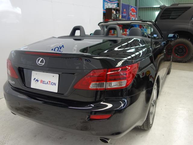 「レクサス」「IS」「オープンカー」「兵庫県」の中古車8