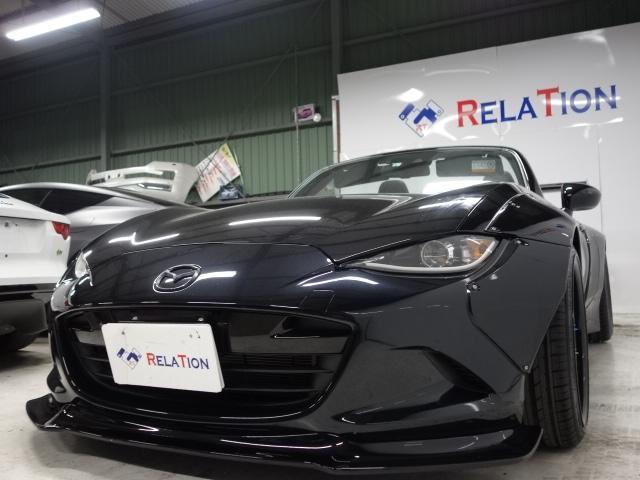 「マツダ」「ロードスター」「オープンカー」「兵庫県」の中古車6