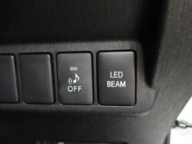 フロントバンパーにはデイライトにも使えるLEDライト装備です!