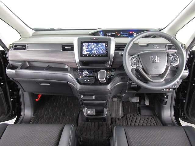 ハイブリッド・Gホンダセンシング ナビ フルセグ ミュージックラック Bluetoothオーディオ インターナビ 両側電動スライドドア LED オートライト ETCナビ連動 15インチアルミ プラズマクラスター付きオートエアコン(2枚目)