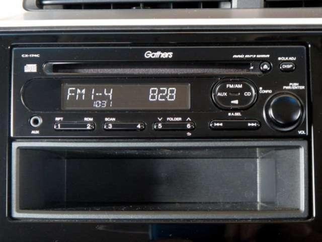 ★ホンダ純正CDチューナー装備車★ 音楽を聴きながら、旅行やドライブをお楽しみいただけます!