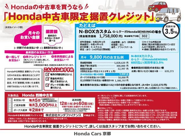 Gホンダセンシング ドラレコ バックカメラ(38枚目)