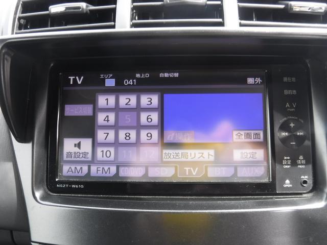 トヨタ プリウスアルファ Sツーリングセレクション SDナビ フルセグ Bカメラ
