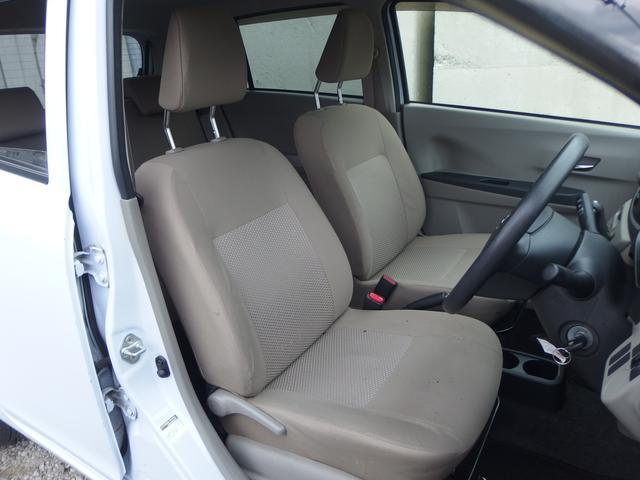 フロントシート 綺麗に保たれています