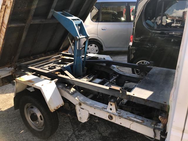 ダンプ 5MT 4WD PTO タイベル交換済 AC PS(5枚目)